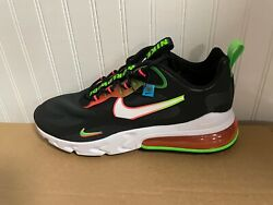 New Mens Nike Air Max 270 React World Wide Sneakers Ck6457 001 Multiple Sizes