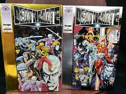 Deathmate Prologue Silver And Yellow Valiant And Image Comic Book Sept. And Oct.1993