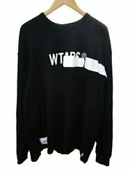 Secondhand Wtaps Aa 19aw Side Effect Design Ls 01 T-shirt Long Sleeve Print Logo