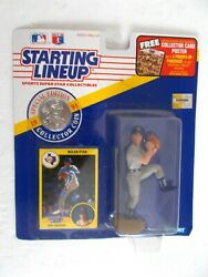 Starting Lineup 1991 Nolan Ryan Figure W/ Card And Coin New In Package
