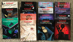 Lot Of 15- Singer Sewing Reference Library Paperback Books Vintage 1980s And 1990s