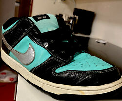Nike Dunk Low Pro Sb Diamond Supply Co. X Dunk Low Pro Sb And039and039 Size 10