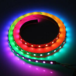 5m Rgb Led Strip Lights With Tv Lcd Back Light 12v Colour Changing Self Adhesive