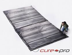 Cure Pro 5and039 X 20and039 Heated Concrete Curing Blanket - Rugged Industrial Pro Model