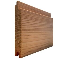 Larch Shadow Gap Cladding 145mmx19mm Smooth Timber Boards 1.8m, 2.4m, 3.0m, 3.6m