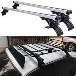 For E34 525i 48 120cm Car Top Roof Rack Cross Bar Cargo Bicycle Luggage Carrier