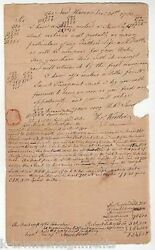 Wooster And Trumbull Ct Early American Clergy Chaplain Autograph Signed Document