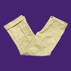 Rare Vintage 70s Big Label Chouinard Stand Up Pants Double Knee 33x33