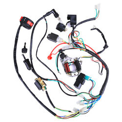 Wiring Harness Electric Wire Cdi Ignition 50 90cc 110cc Atv Electric Quad Buggy