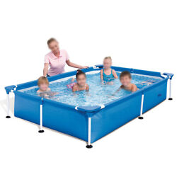Bestway 7.25ft X 5ft X 17in Rectangular Above Ground Swimming Pool 56401 Us Sale