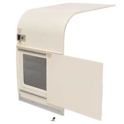 Chaparral Boat Sliding Door 320500 | 320 Signature Off White W/ Screen