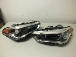 2016 2017 2018 2019 Bmw X1 Left And Right Led Headlight Headlamp Complete