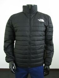 Nwt Mens Tnf The Flare 2 Insulated 550-down Fz Puffer Jacket - Black