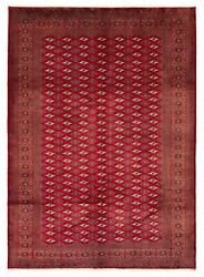 Hand-knotted Vintage Carpet 7'1 X 9'9 Traditional Tribal Wool Rug