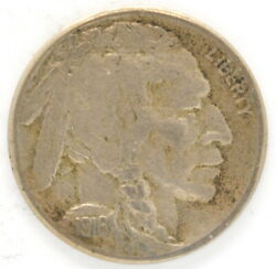 1916 S Buffalo Nickel Us Five 5 Cent Coin San Francisco Mint United States