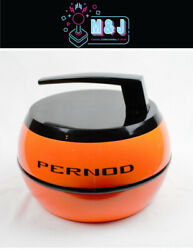 Vintage 1970s And039and039pernodand039and039 French Ice Bucket - Orange Rare Aussie Seller