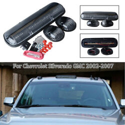 3pc Clear 264155bk White 30led Cab Roof Running Marker Lights Car Truck Off Road