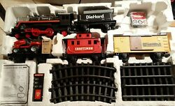 Huge Sears Express First Craftsman Rc Model Train Set For Christmas Tree Bad Box