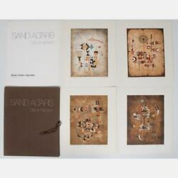 Diana Hansen Sand Altars Four Etchings In A Portfolio. Hand-signed/numbered