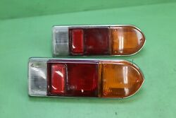 1970 Triumph Spitfire Gt6 Driver Left Passenger Right Tail Lamp Taillight Oem