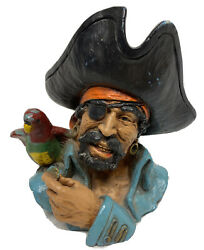 Rare 70s Universal Statuary Corp. Chicago 1974 Pirate Captain Bust By V Kendrick