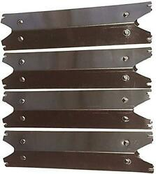 Set Of Four Stainless Steel Heat Plates For Brinkmann 810-2410-s, 810-2411-f,