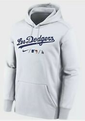 Nike Therma City Connect Hooded Sweatshirt Mlb Los Angeles Dodgers Adult Xxl