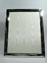 Midcentury Modern Frame - Picture Photo - Very Large Portrait - Sterling Silver