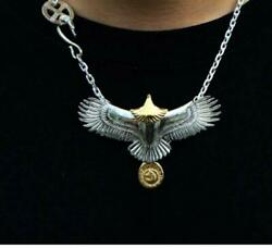 Tady And King Large Eagle Custom Set Necklace Size M K18 Gold Genuine F/s From Jp