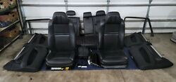 10 11 12 13 Bmw E70 X5 M Black Interior Seat Front And Rear Set Oem Seats And Wood