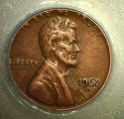 1962-d 1c Lincoln Memorial One Cent, Doubled Die Obverse On The D Trust,1962