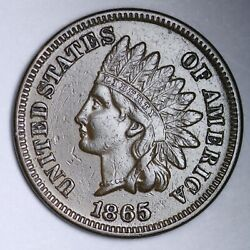 1865 Indian Head Cent Penny Choice Unc Uncirculated Ms Free P/h E126 Jmw