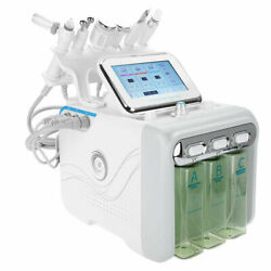 6in1 Hydra Hydro Machine Pro Water Dermabrasion Deep Facial Beauty Home Face Spa