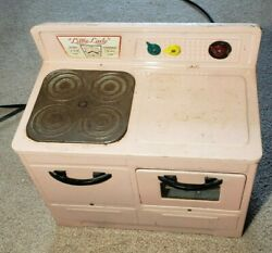 Vintage Little Lady Metal Stove/oven Toy, Used, Great Condition, Collectible
