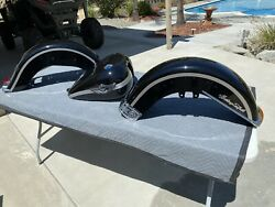 Harley 100th Anniversary Complete Heritage Softail Paint Set Gas Tank Fenders