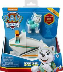 X-paw Patrol Vehicle Base Everest Snow Plow Toy Online In Promo