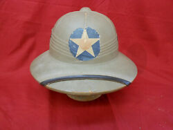 Original Wwii 13th Bombardment Squadron Grim Reapers Pith Helmet