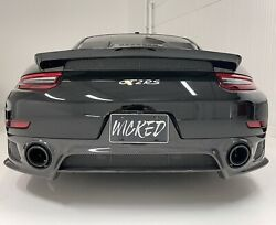 Porsche Gt2rs And Gt3rs Wing Delete Winglets Duck Tail Remove Oem Rs Spoiler