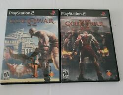 God Of War 1, And 2 Sony Playstation 2, Ps2 Complete. Tested/works.