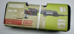 New - Rockwell F80 Sonicrafter Rk5151k 4.2-amp 12-piece Oscillating Tool Kit