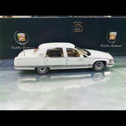 Original Model 118 Scale Cadillac Fleetwood Diecast Car Collection White