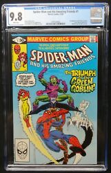 Dragonmiser Marvel Spiderman And His Amazing Friends 1 Cgc 9.8 White Pages
