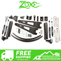 Zone Offroad 4 Radius Arm Lift Kit For 08-10 Ford F250 F350 Super Duty Gas