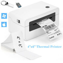 4x6 Thermal Shipping Label Barcode Printer High-speed For Ebay Fedex Usps