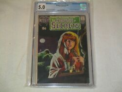 House Of Secrets 92 Cgc 5.0 Off-white To White Pages Dc1971 First Swamp Thing