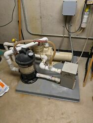 Hayward Pool, Spa Or Hot Tub-- Pump, Heater, Filter And Ozone--complete Package