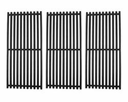 3 Pcs Cast Iron Grill Grates For Charbroil 463242516 G466-0025-w1a 17 X 7 1/2