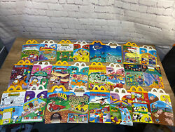 Vintage Lot Of 27 Mcdonald's Happy Meal Lunch Boxes/bags. Garfield, Peanuts, Etc