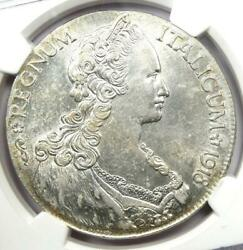 1918-r Eritrea Talero Coin - Certified Ngc Uncirculated Details Unc Ms - Rare