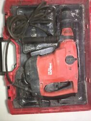 Hilti Te 60 120-volt Corded Sds Max Combihammer Rotary Hammer Drill In Case